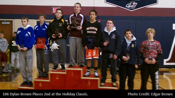 Freedom Wrestlers Place at the Bethlehem Holiday Wrestling Classic