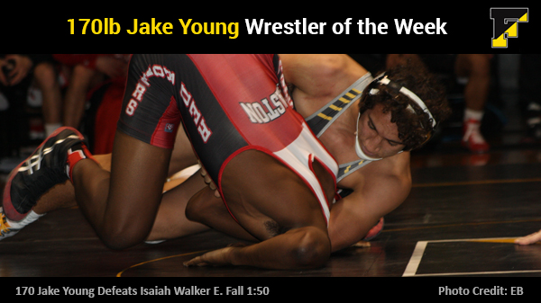 Jake Young Freedom Wrestler of the Week