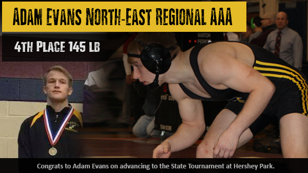 Adam Evans 4th in AAA North-East Regional – Hershey Bound
