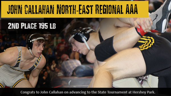 Johnny Callahan 2nd in AAA North-East Regional – Hershey Bound