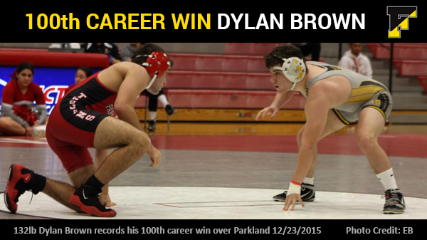Dylan Brown Records 100th Career Win