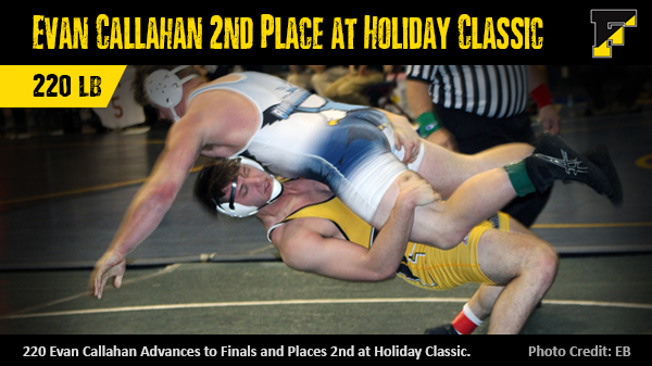 4 Freedom Wrestlers Place at Bethlehem Holiday Classic