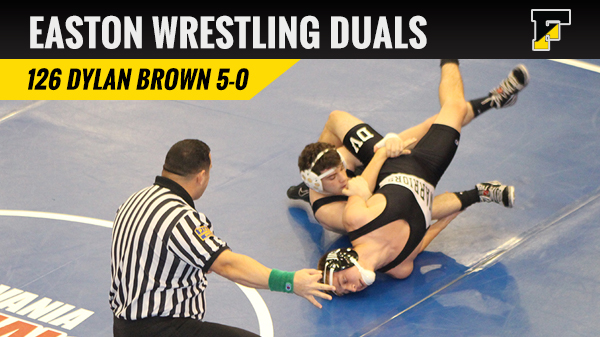 Brown Wins All 5 At Easton Duals