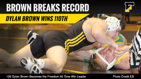Dylan Brown Becomes All Time Wins Leader