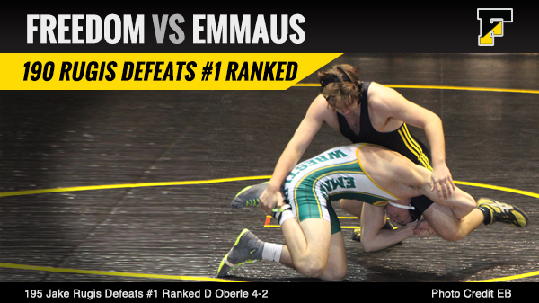 Freedom Defeats Emmaus 33 – 30