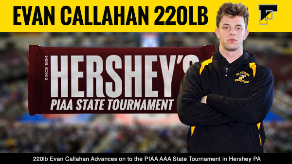 Evan Callahan Advances Qualifies for PIAA State's