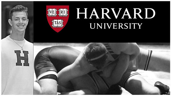 Evan Callahan Commits to Wrestle for Harvard University