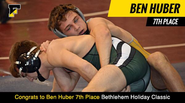 Ben Huber Places 7th in Holiday Classic