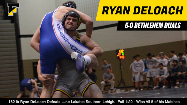 Ryan DeLoach Dominates the Battle at Bethlehem