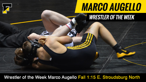 Wrestler of the Week Marco Augello