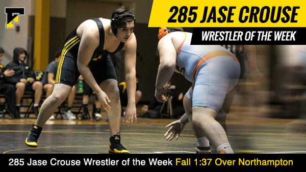 Wrestler of the Week Jase Crouse
