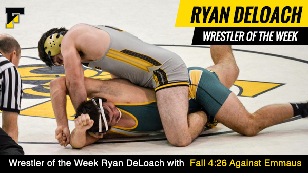 Wrestler of the Week Ryan DeLoach