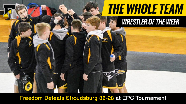 EPC Tournament Freedom 39 Stroudsburg 28