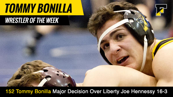 Wrestler of the Week Tommy Bonilla