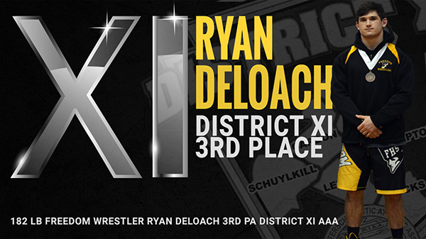 Ryan DeLoach 3rd District XI AAA Tournament