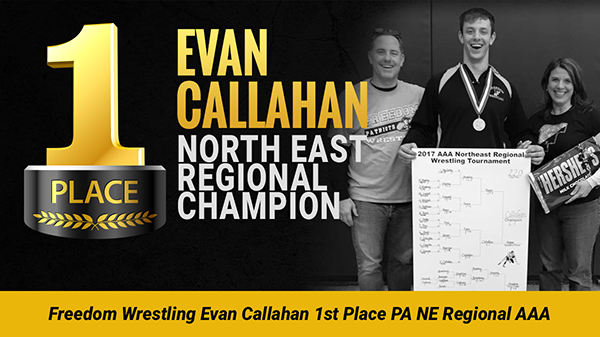 Evan Callahan 1st Place North East Regional
