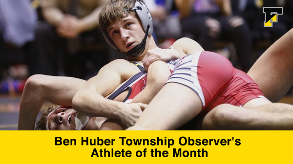 Ben Huber Athlete of the Month