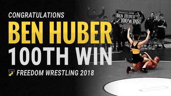 Ben Huber 100th Win