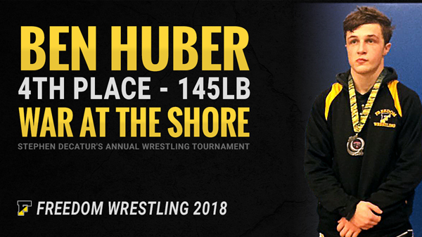 Ben Huber 4th Place War at the Shore