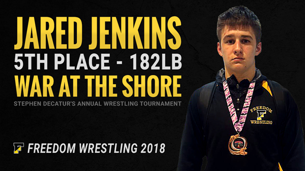 Jared Jenkins 5th Place War at the Shore