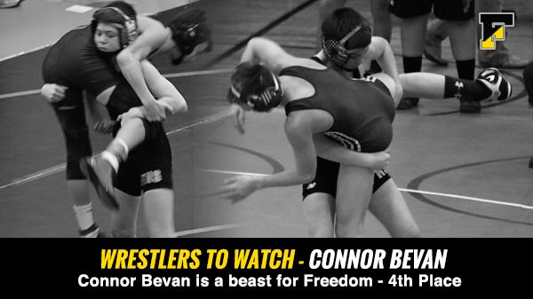 Wrestlers to Watch – Connor Bevan