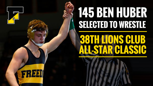 Ben Huber Selected 38th Lions All-Star Classic