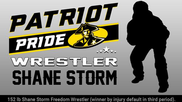 Patriot Pride Award: Shane Storm