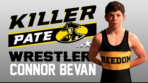 Killer Pats Award: Connor Bevan